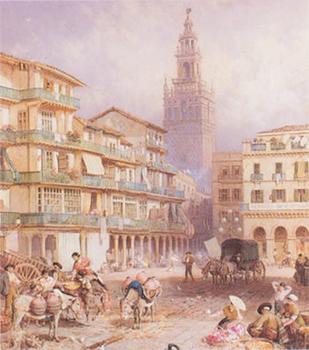 19世紀・セビリア