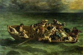 ドラクロワ◇ドン・ジュアンの難破(ドン・ジュアンの難船)1840